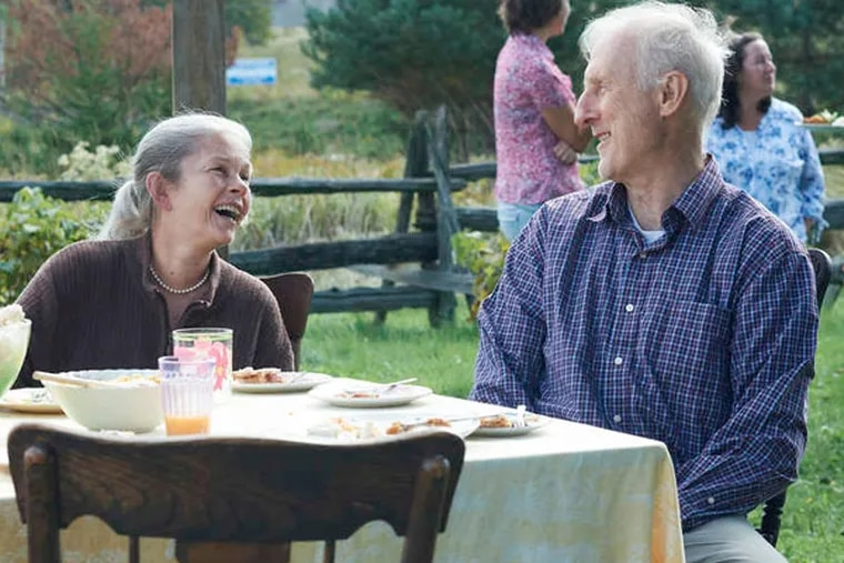 Geneviève Bujold and James Cromwell as Irene and Craig. The movie is based on the story of the real Craig Morrison, who fought to build a better-suited house for the long-married couple. (KEN WORONER / Samuel Goldwyn Films)