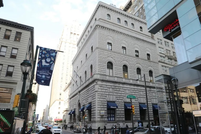 The former Drexel & Co. headquarters at 15th and Walnut was modeled on a 15th Century Florentine place.