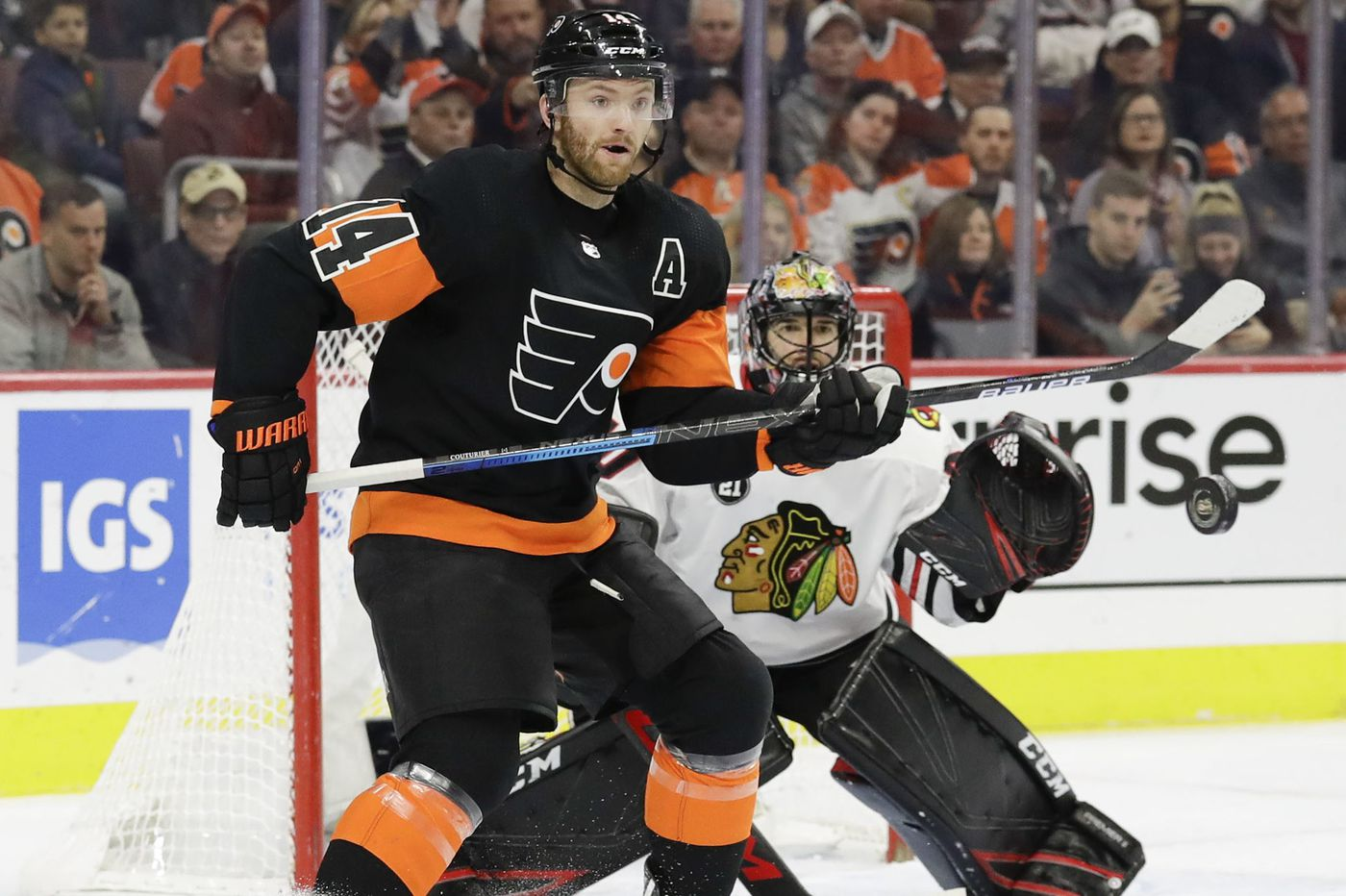 Flyers' resurgence has been fueled by Sean Couturier, top line performance