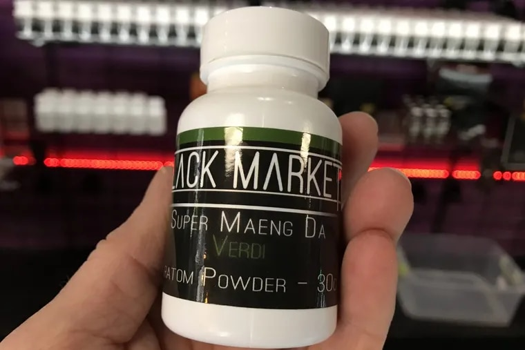 Kratom, a controversial herbal product, is sold in powder and capsule forms at Holy Smokes, 203 S. Juniper Street.