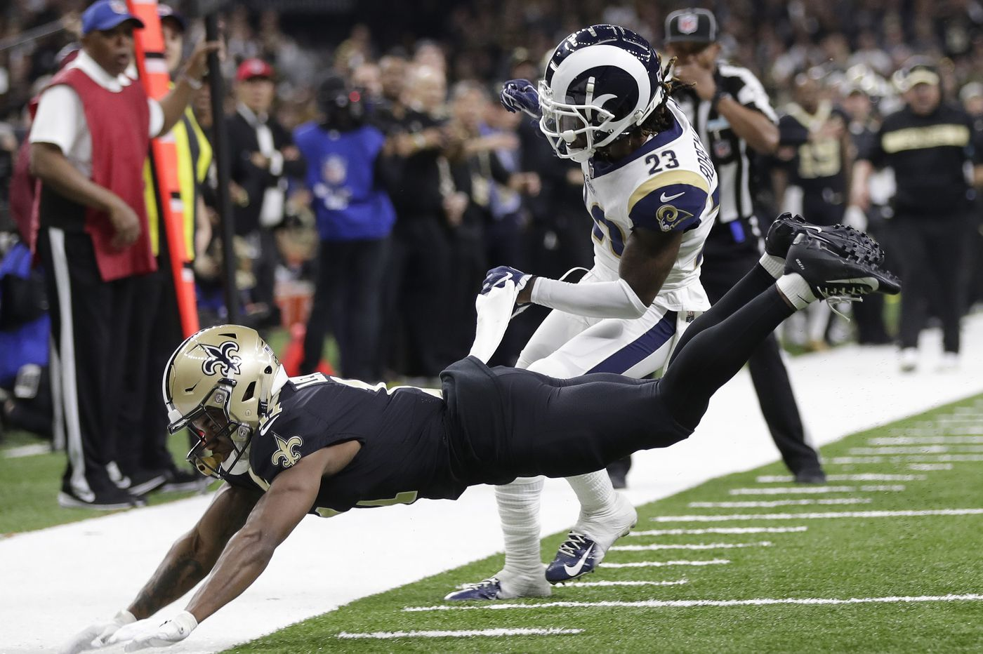 NFL will consider making pass interference calls reviewable after Rams-Saints playoff gaffe