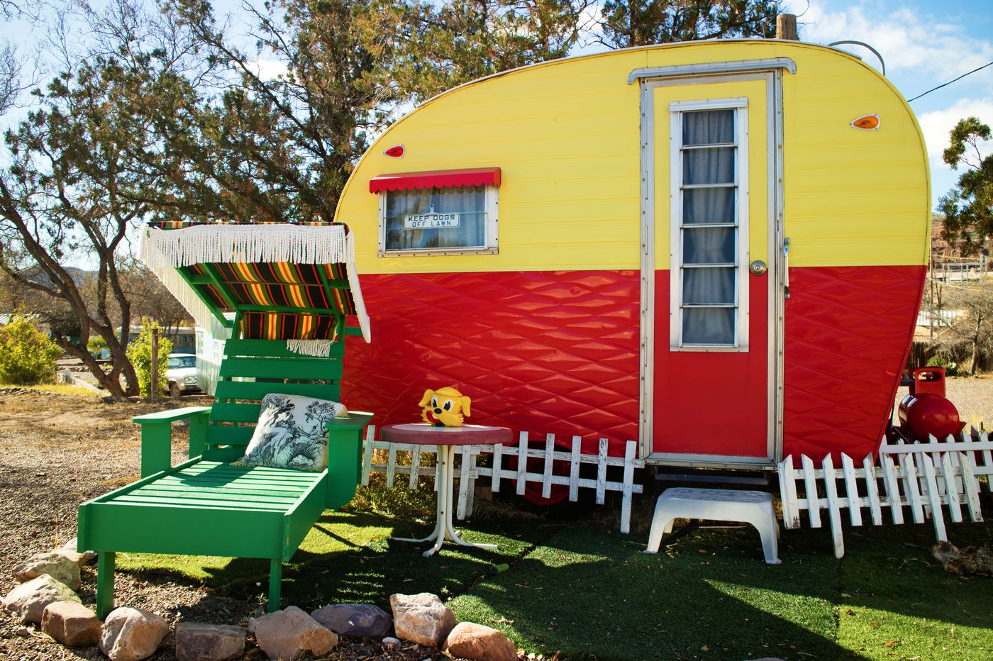 Vintage trailer resorts offer a road trip without a hitch