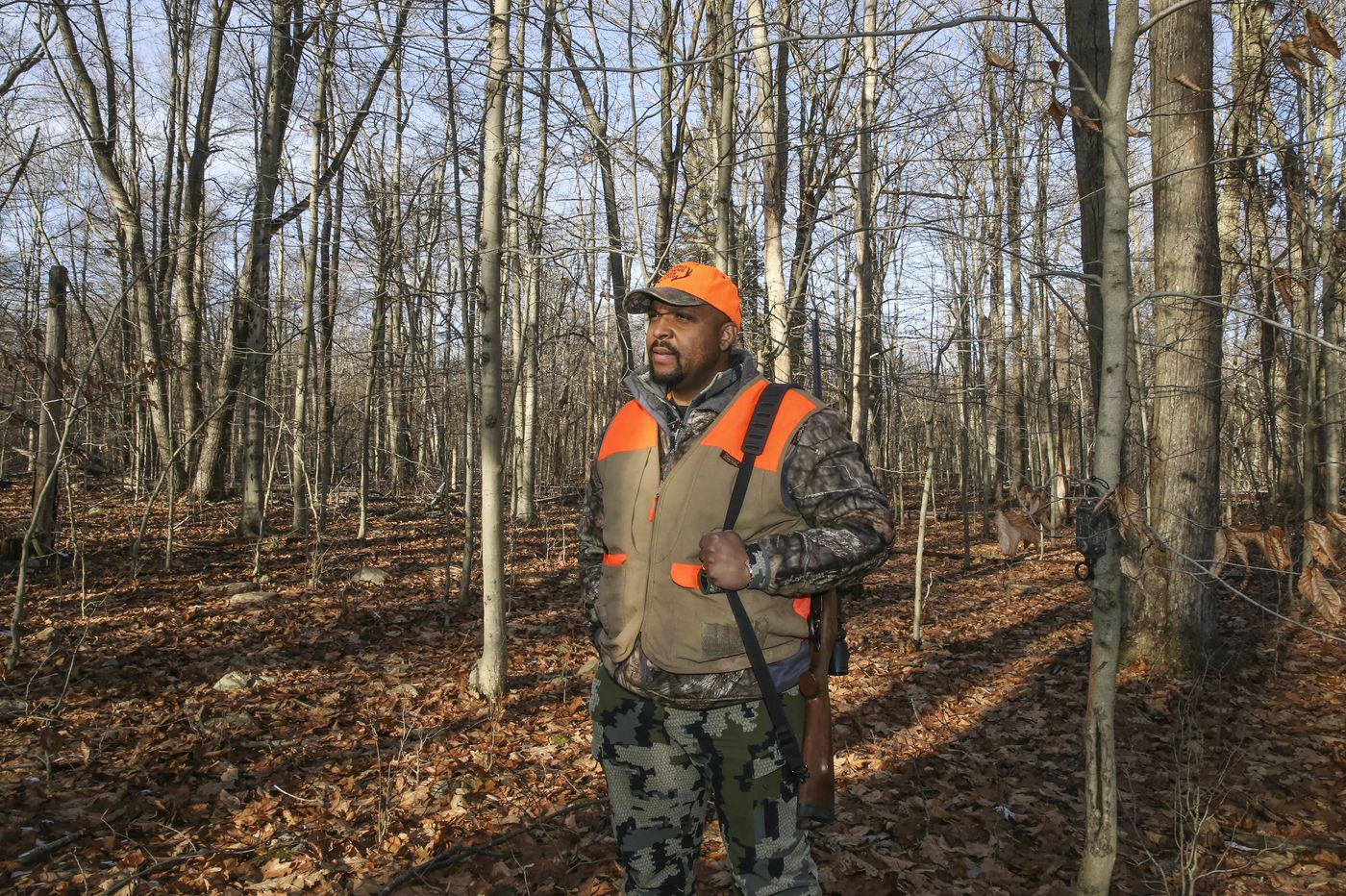 A Black-owned camp in the Poconos aims to make hunting more diverse