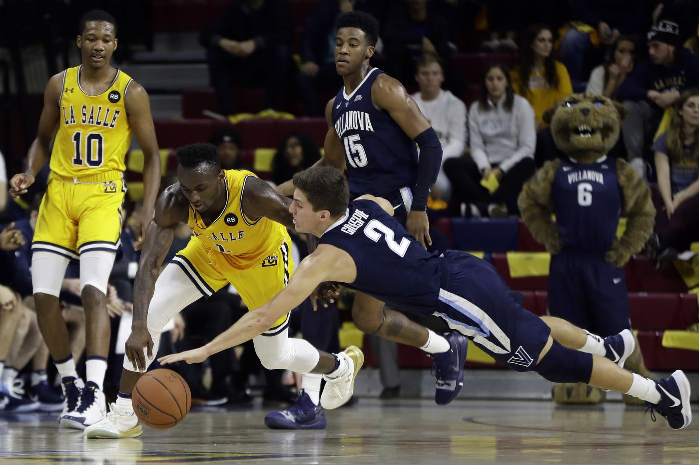 Villanova, and especially La Salle, created memorable day at the Palestra