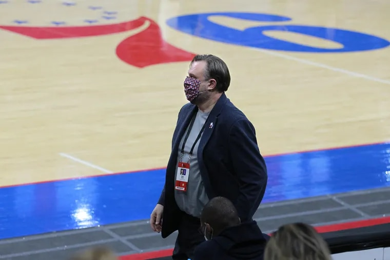 SIxers President Daryl Morey may trade away this year's first-round draft pick.