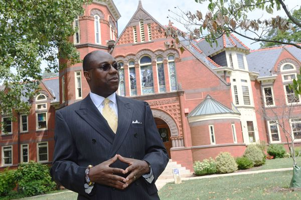 He's a state university president and an African king. How Millersville's new leader is bridging those worlds
