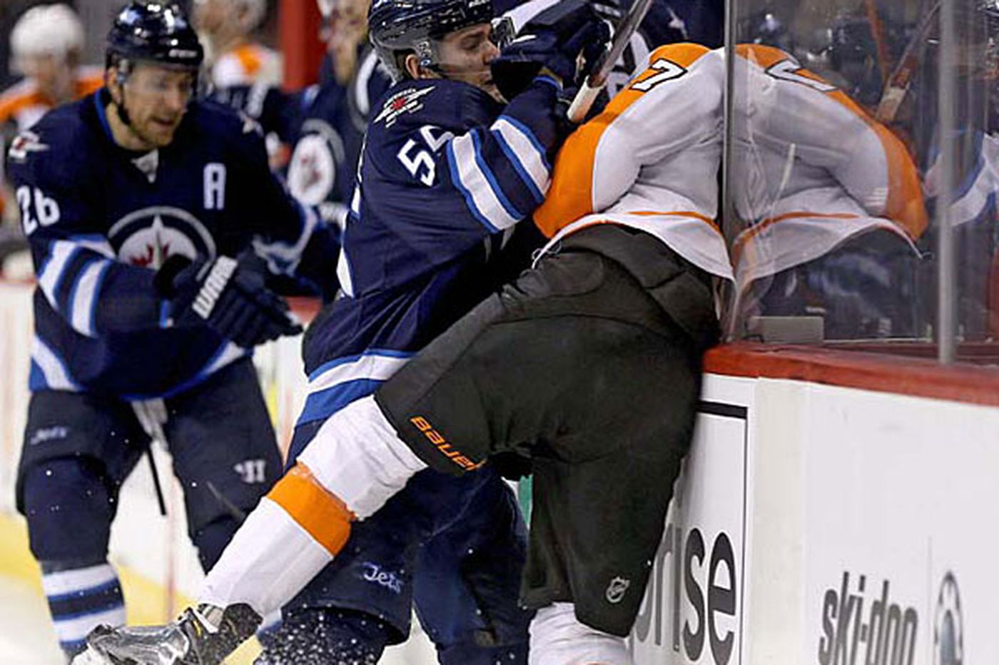 Inside the Flyers: Being physical without an enforcer