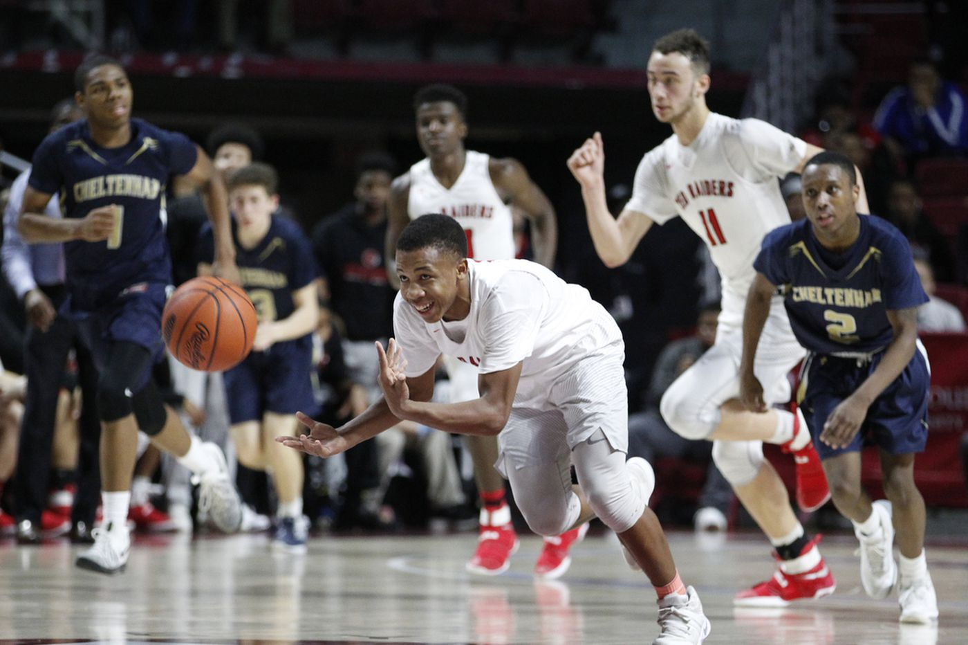 Coatesville guard Jhamir Brickus was already playing lights-out before dropping 52 points against Chester on Saturday
