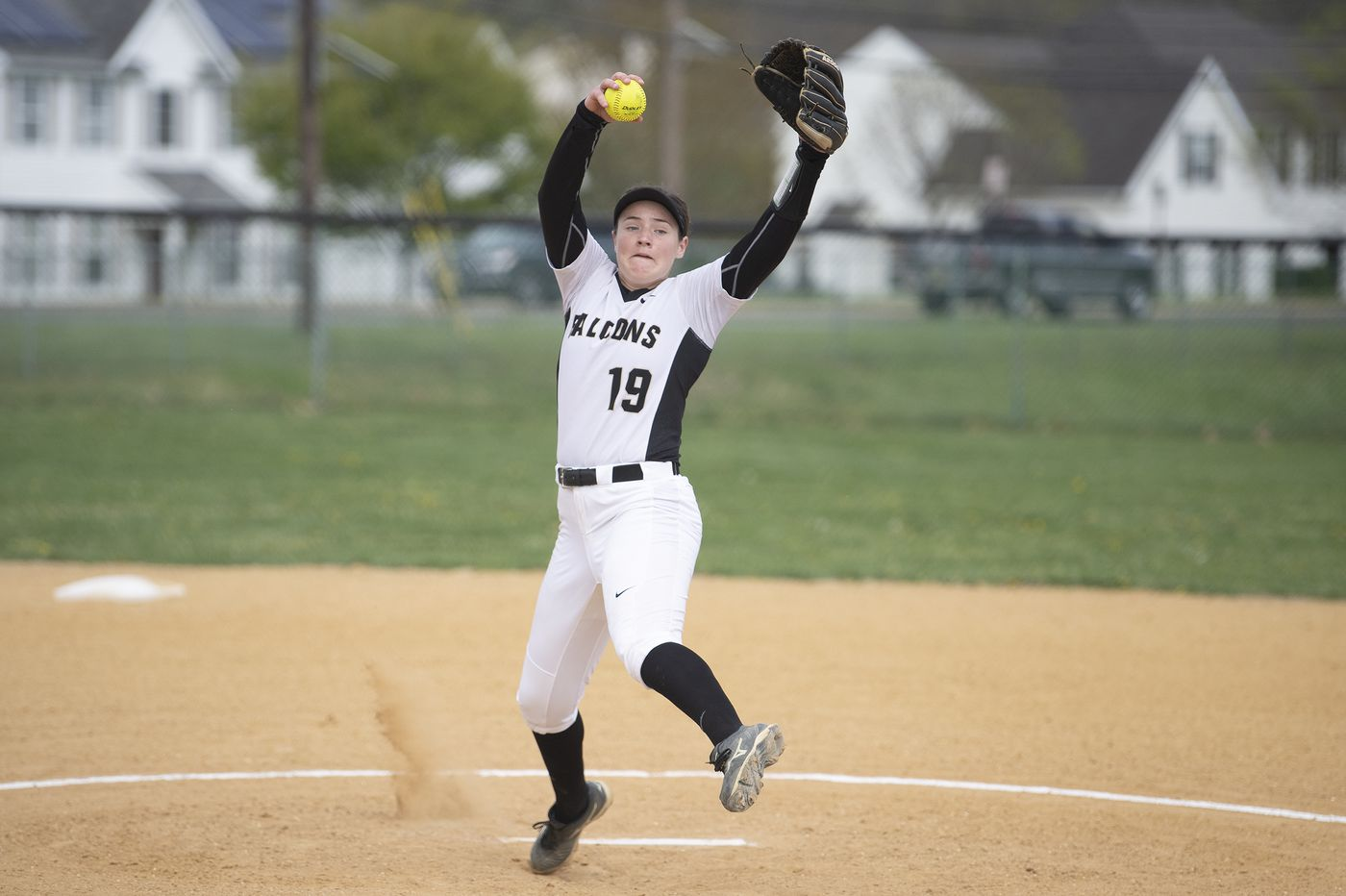 Burlington Township pitcher Bailey Enoch is piling up the strikeouts and the no-hitters
