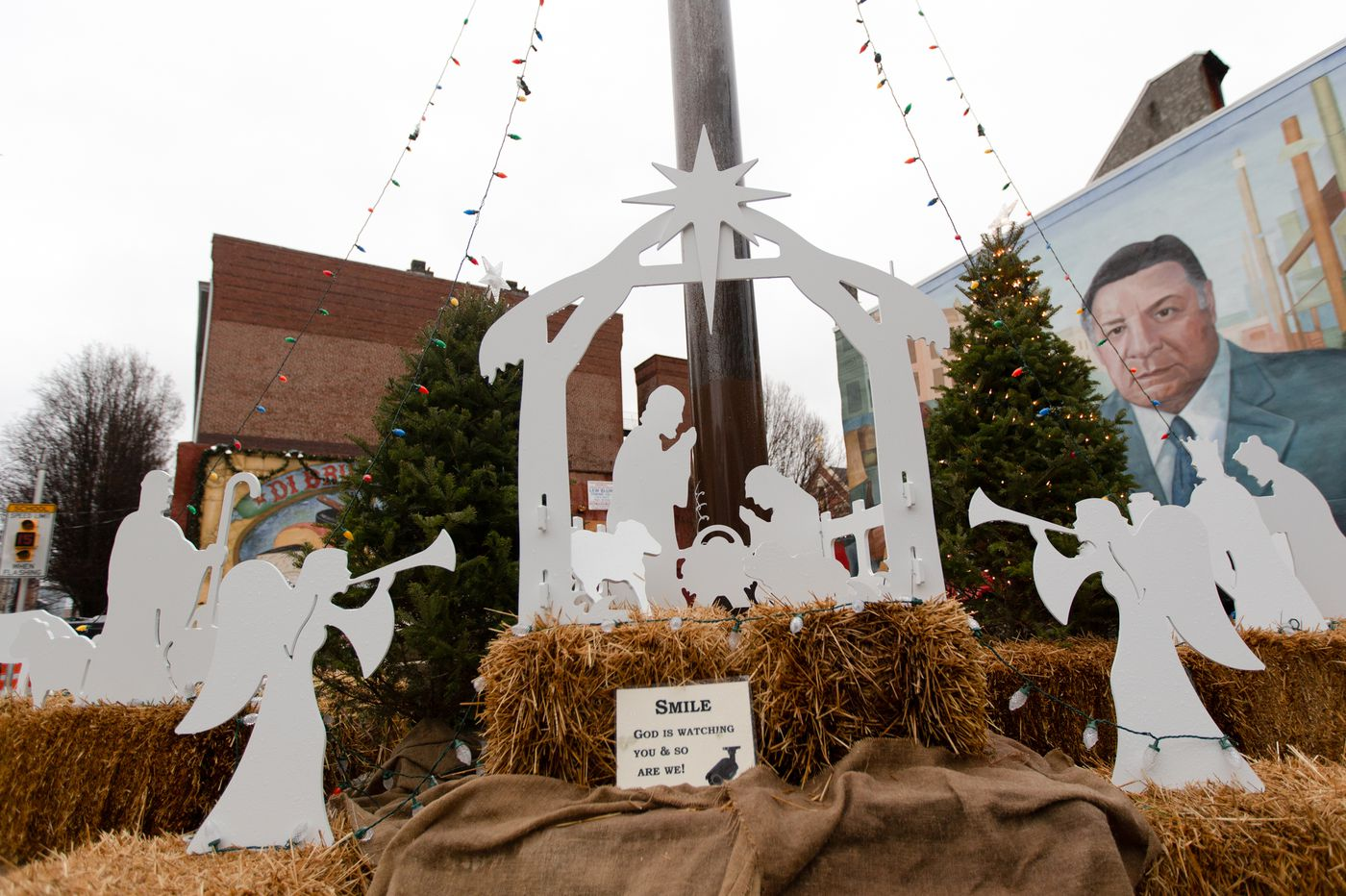A Christmas caper: In shadow of Rizzo mural, thief pillages South Philly Nativity scene