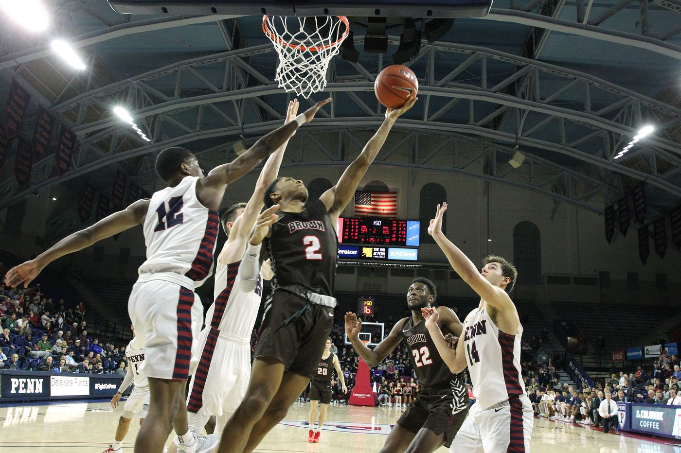 Brown 75, Penn 63: Stats, highlights, and reaction from Quakers' loss