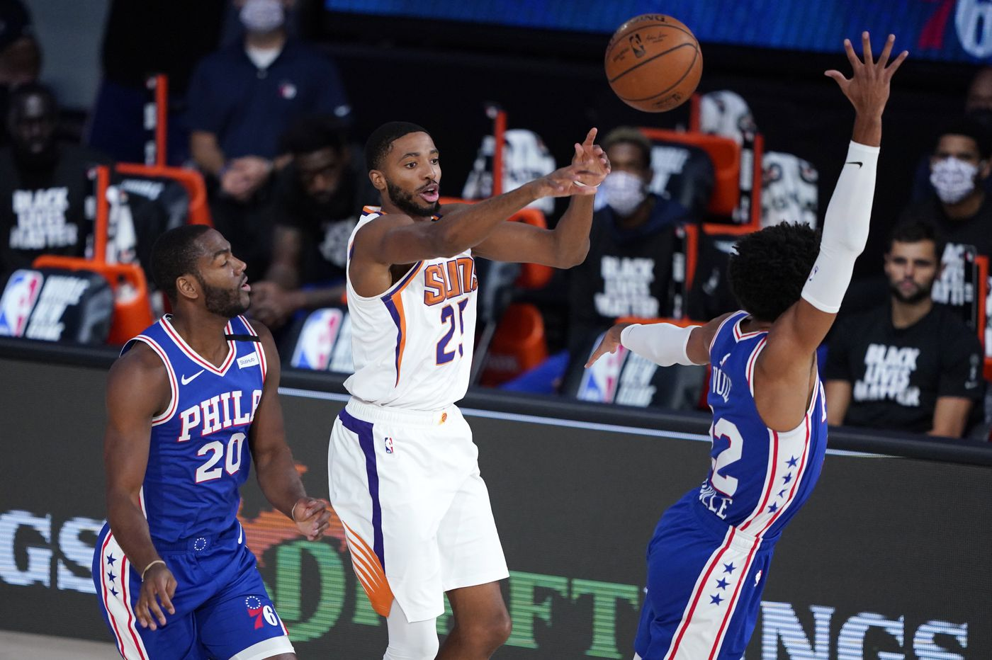 Undermanned Sixers fall, 130-117, to Phoenix Suns as Devin Booker scores 35 points for fourth time in five games