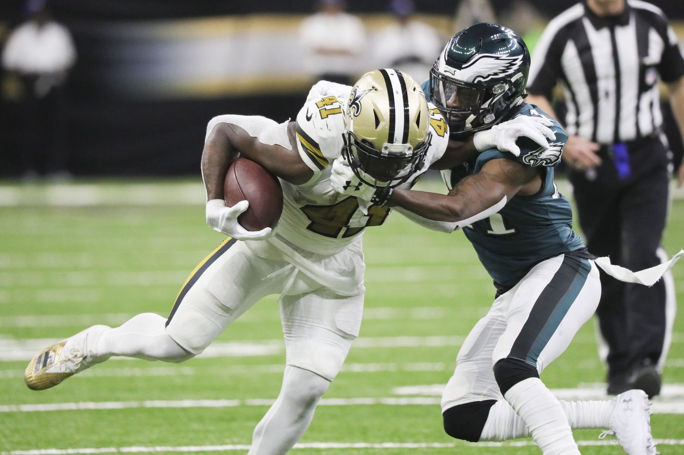 Grading the Eagles: Pass offense, run defense earn an 'F' in loss to Saints | Paul Domowitch