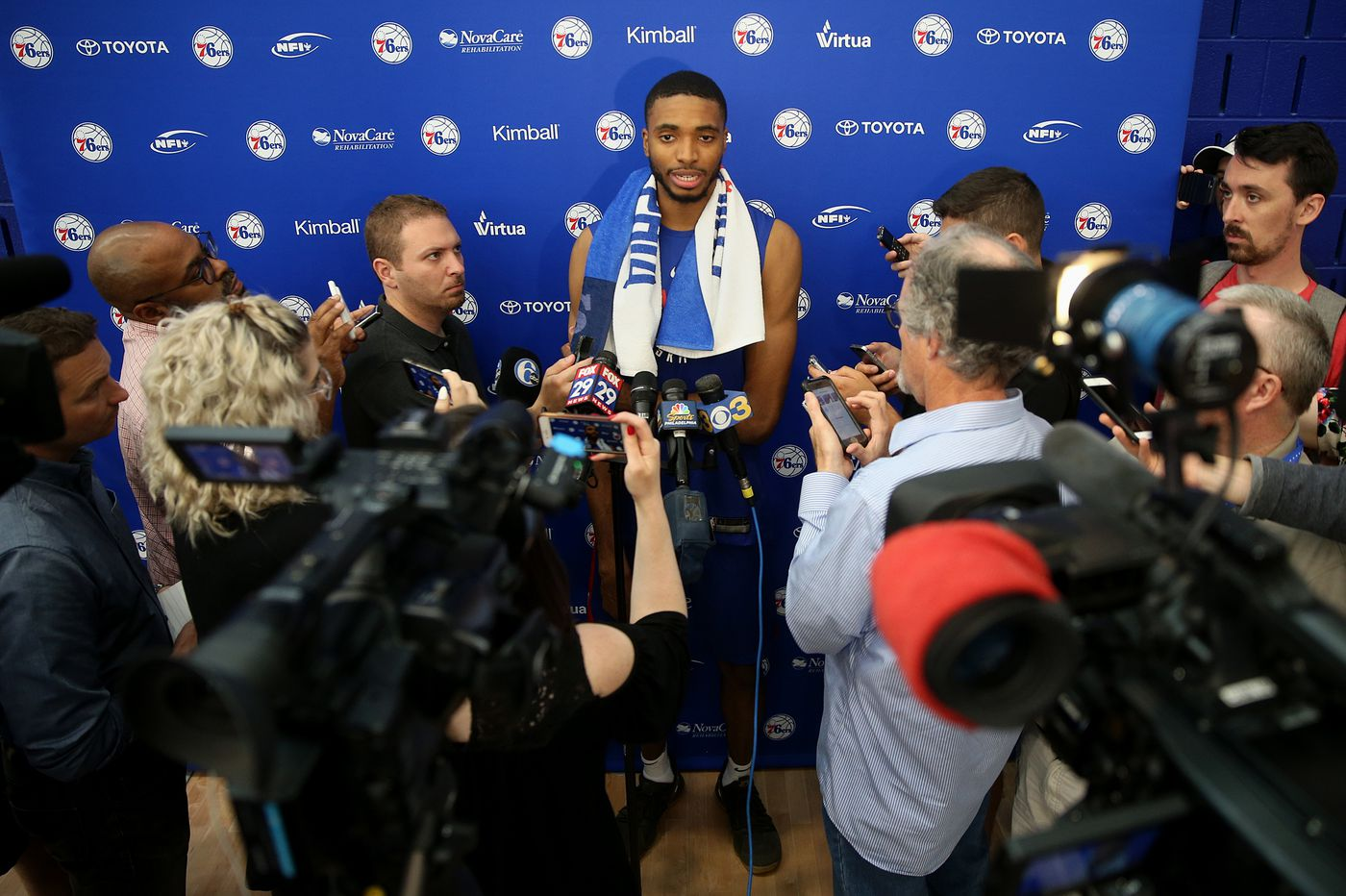 NBA mock draft 2018: Will Knicks pick Sixers target Mikal Bridges? | Keith Pompey