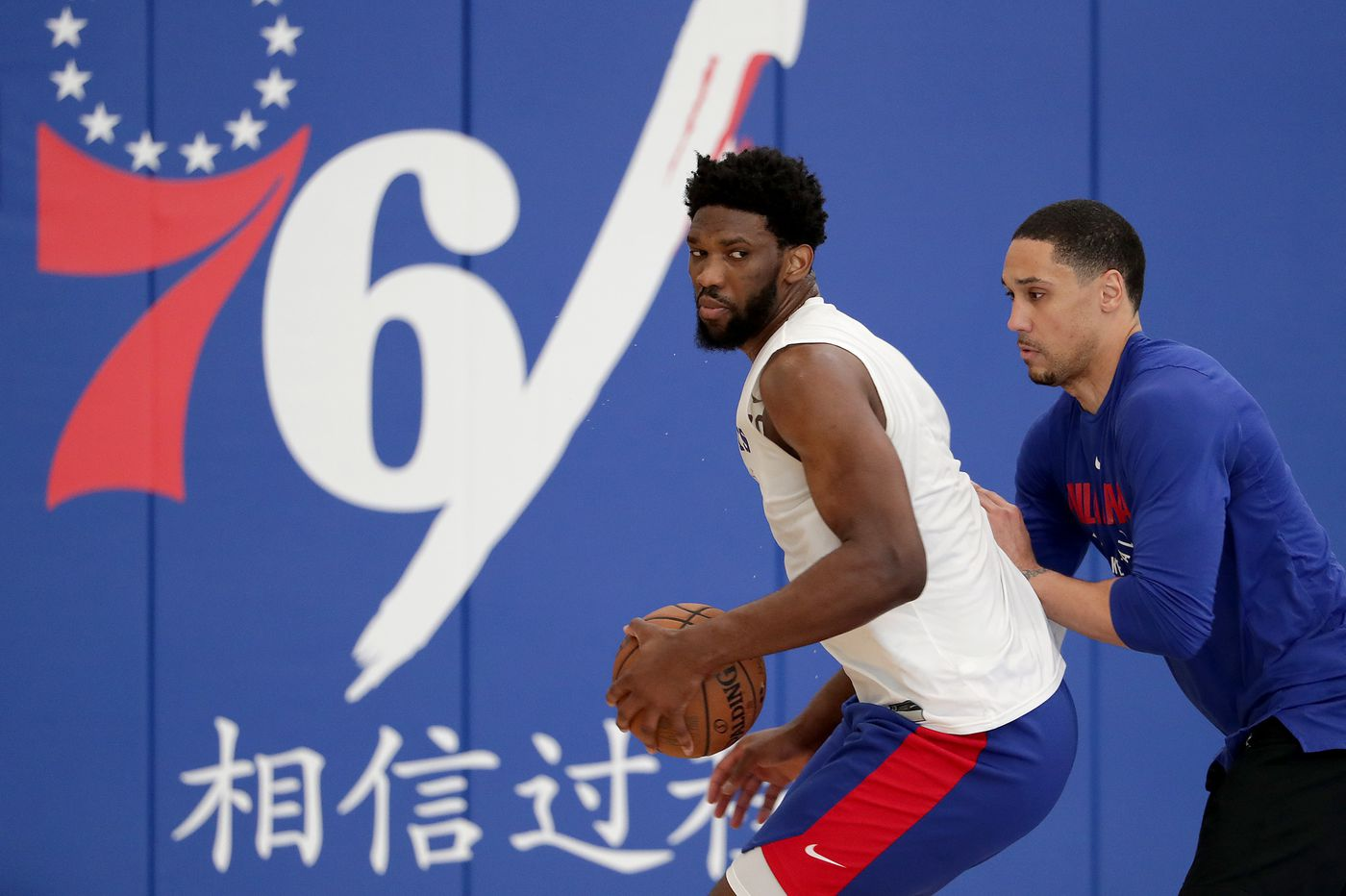 Countrymen Joel Embiid, Pascal Siakam kick off trash talk ahead of series