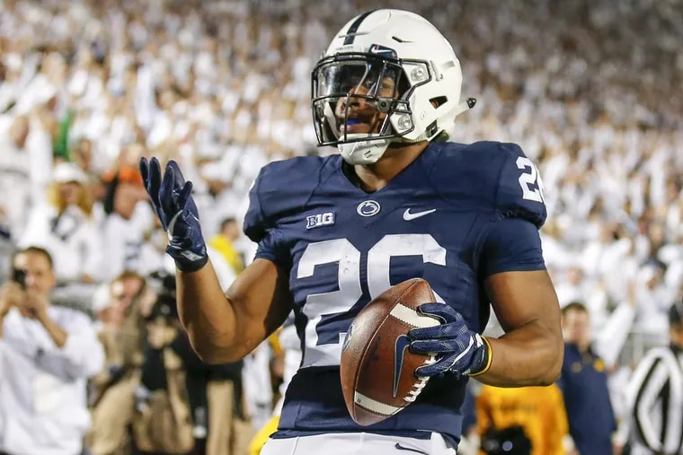 Running back Saquon Barkley could be playing his last game in a Penn State uniform Saturday.