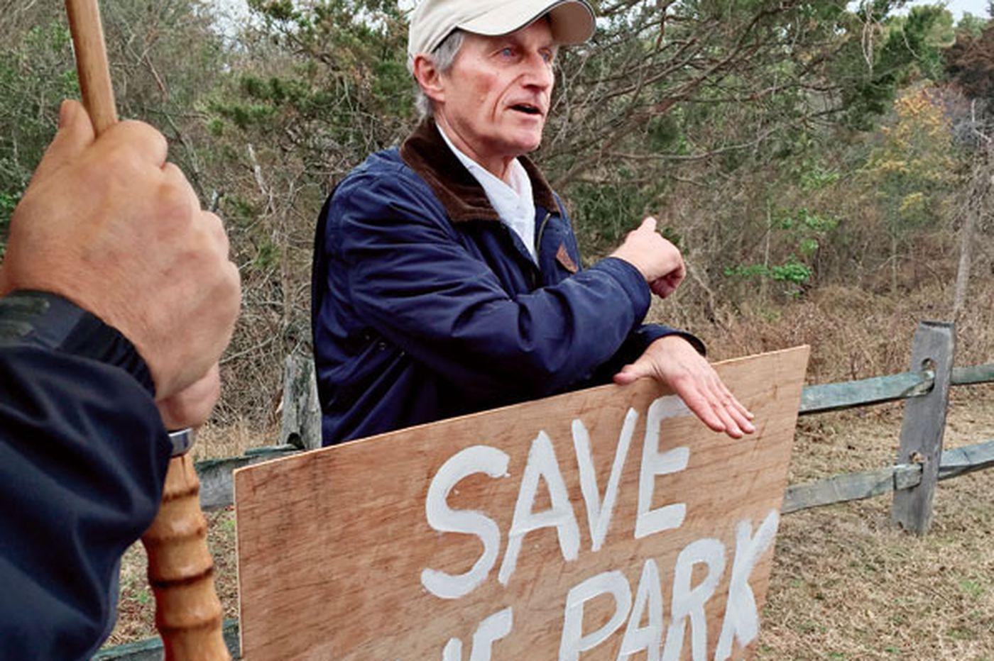 Avalon debates plan to save park beset by invasive species