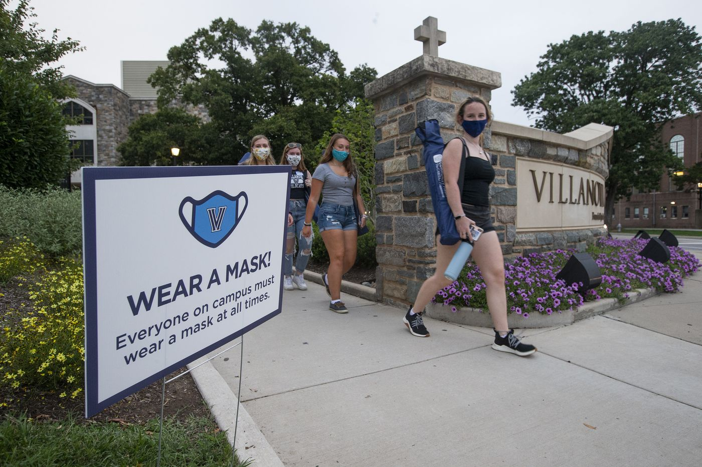 Children must wear masks in Pa. schools; health officials wary of outbreaks on college campuses as students move in