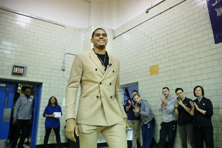 The Sixers' Tobias Harris called for the resignation of Montgomery County commissioner Joe Gale.