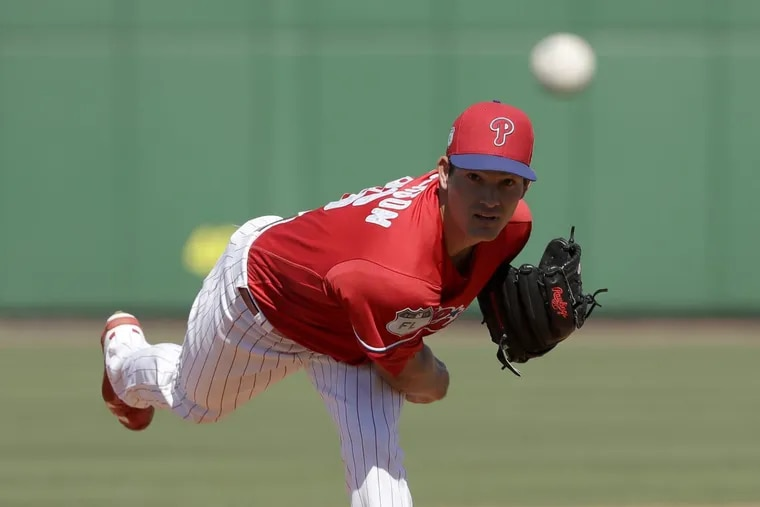 Drew Anderson is the latest young Phillies pitcher to be summoned to the majors.