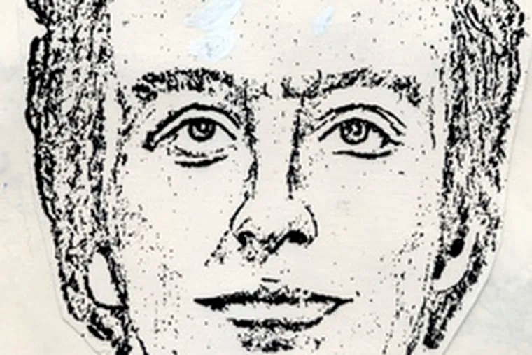 The sketch used to connect Ferber to the mob slaying.