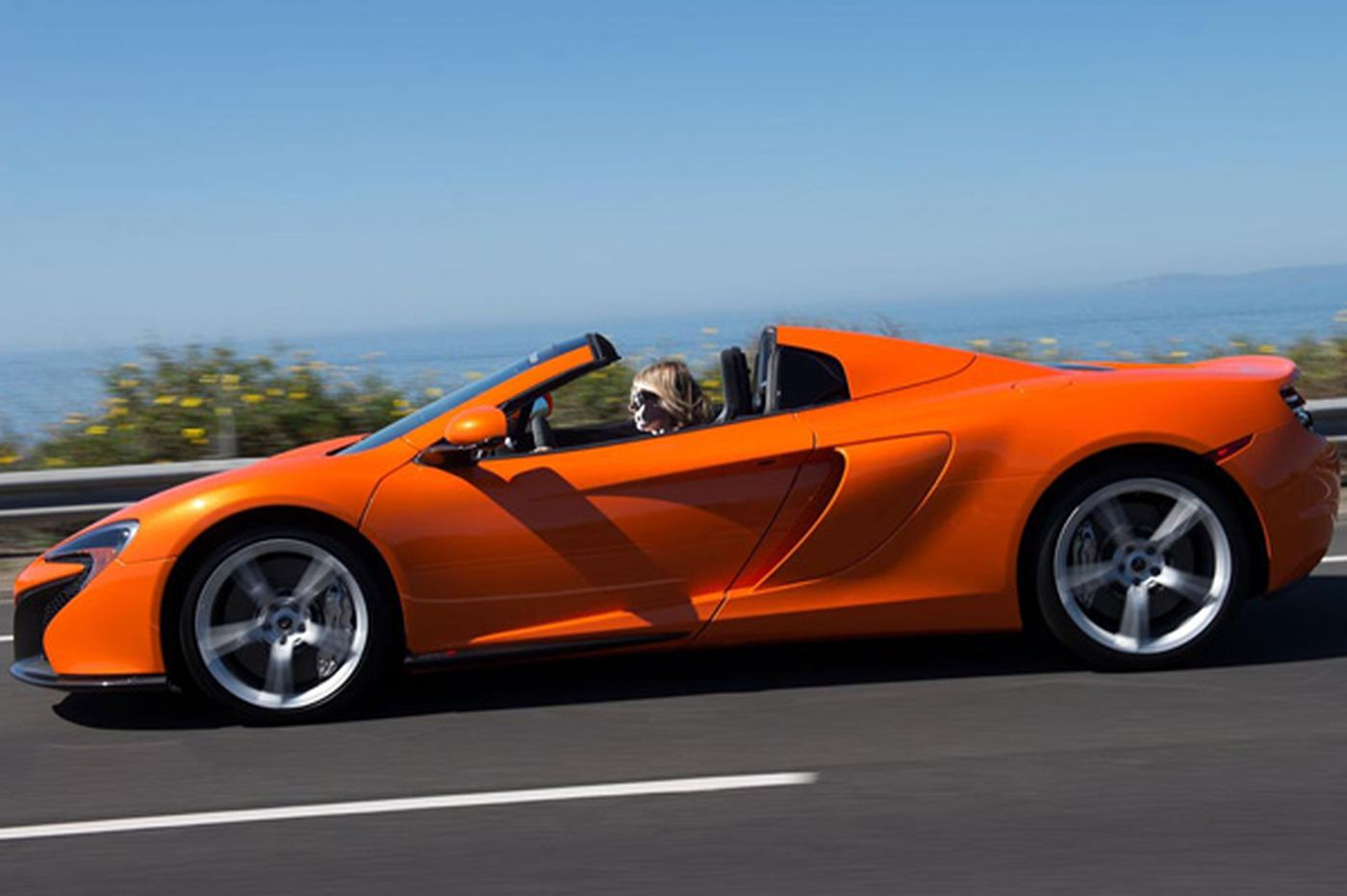 McLaren 650S a step below P1, but who will know?
