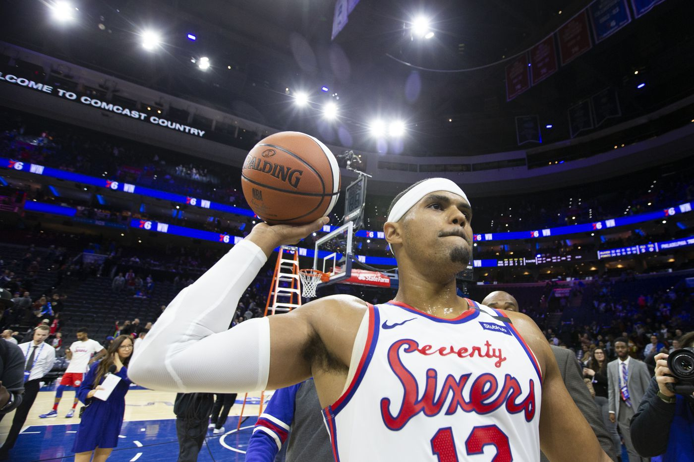 Tobias Harris fits with the Sixers perfectly, if he's used properly | Mailbag