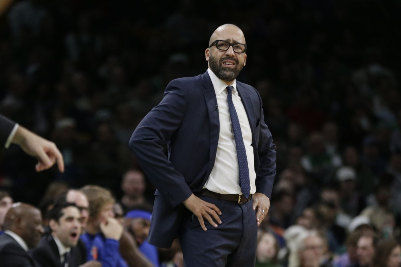 Knicks coach David Fizdale finding small victories in losing season
