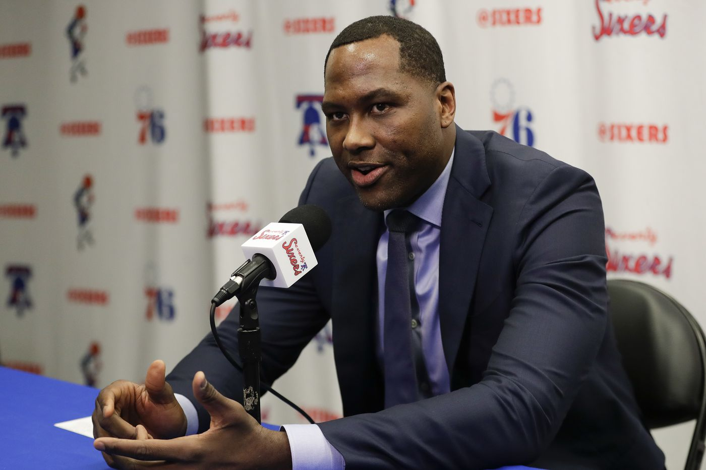 Sixers' Elton Brand: 'I owe it to this city to deliver on our goals' | Off the Dribble