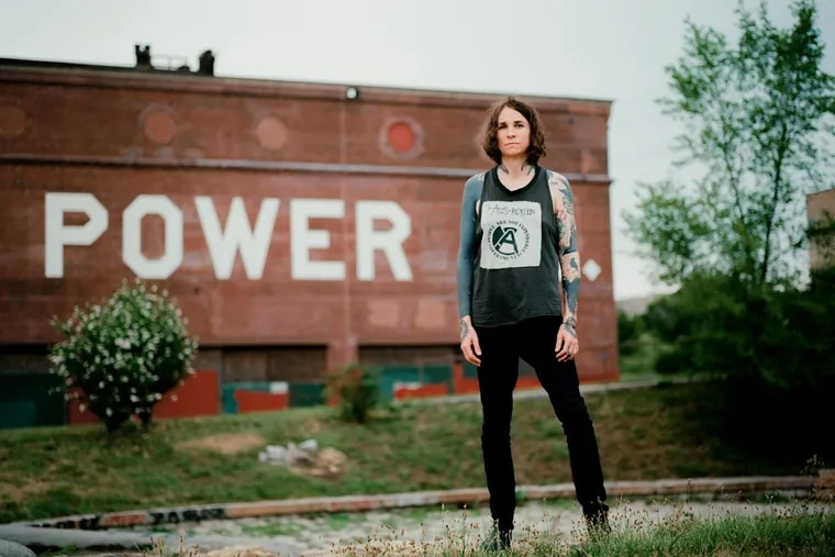 Laura Jane Grace, who will perform at Four Seasons Total Landscaping in Northeast Philadelphia and at Kung Fu Necktie in Fishtown on Aug. 21 and Aug. 22.