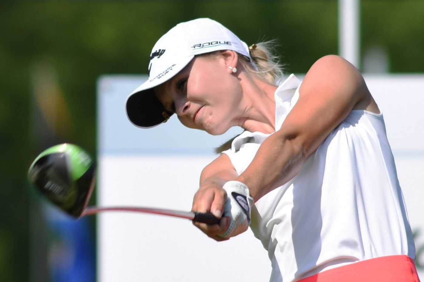 Louise Ridderstrom's 63 leads her to a 4-stroke victory in Valley Forge Invitational
