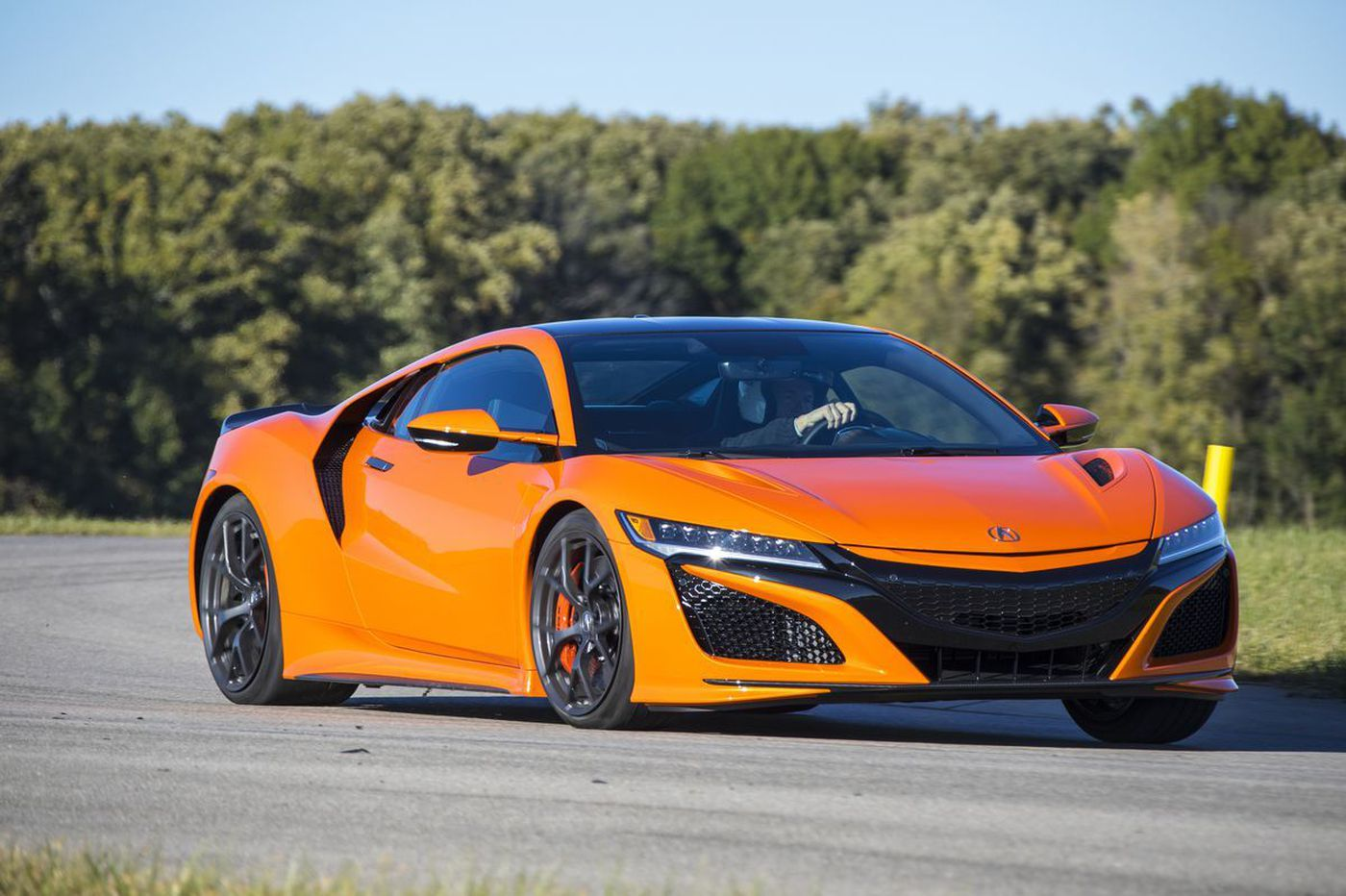 Acura NSX is built for the track, not the road