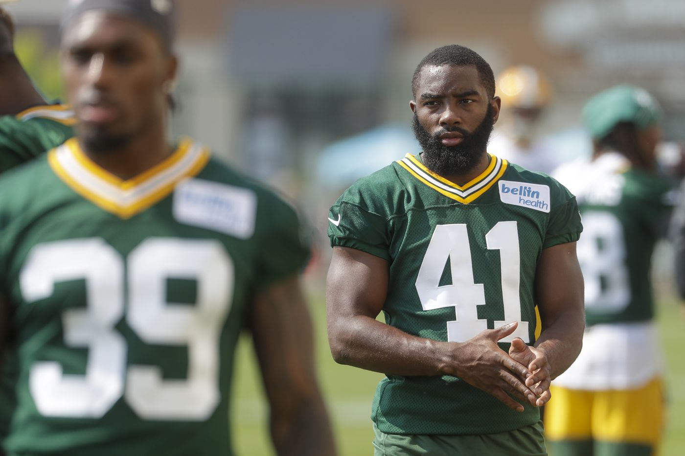 Former Simon Gratz football star takes memory of slain friend to Green Bay Packers training camp