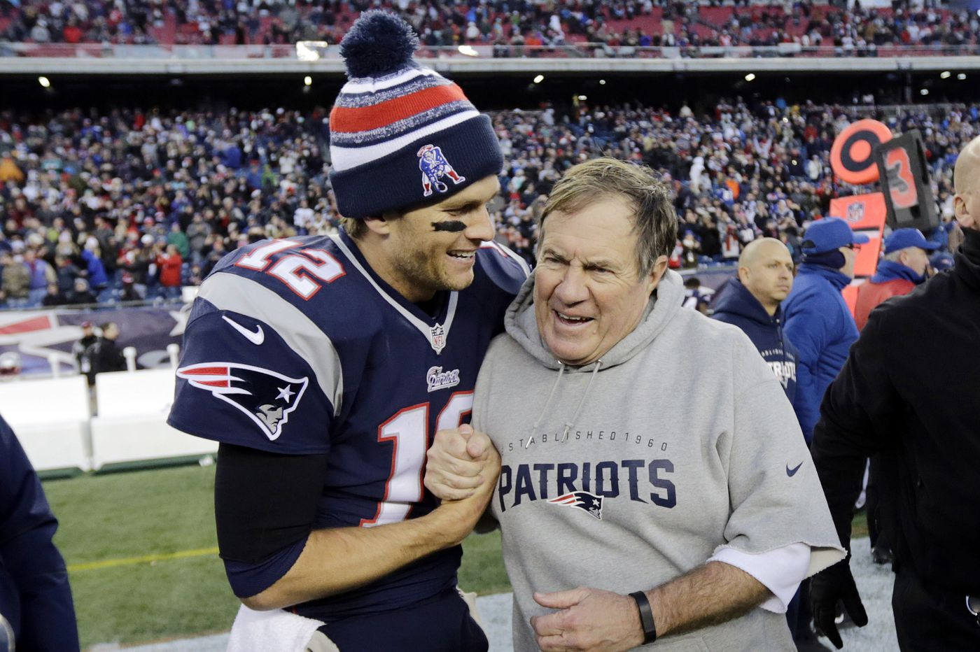 Tom Brady's record in cold-weather playoff games is ridiculous | Sports betting notes