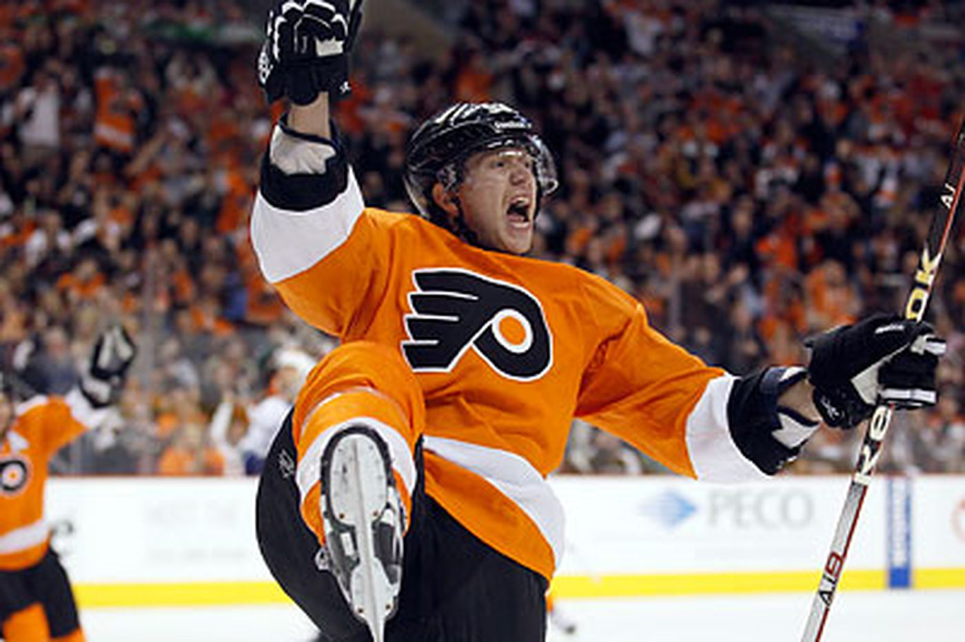 Voracek begins to feel at home with Flyers