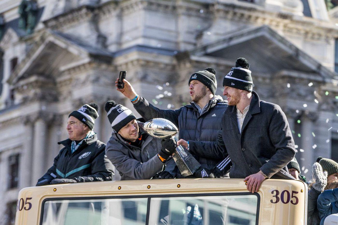 Eagles parade: Recapping Philadelphia's Super Bowl celebration