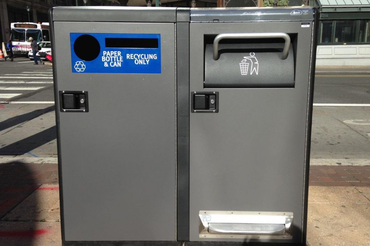 Philly getting new, germaphobe-friendly street trash compactors