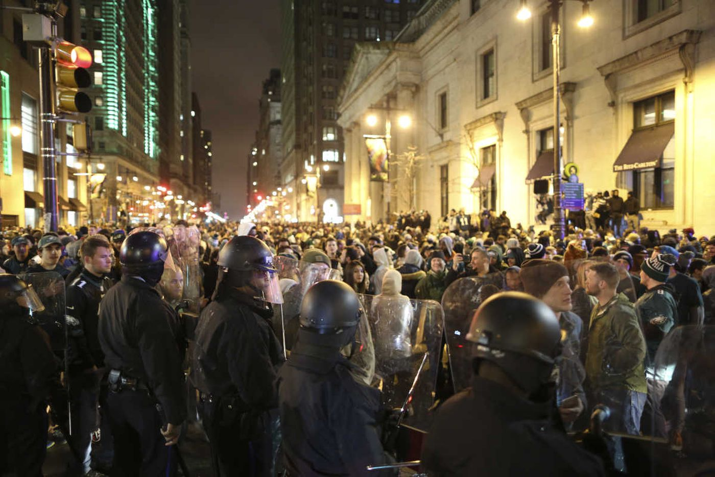 Philly cops: We're ready for Super Bowl parade