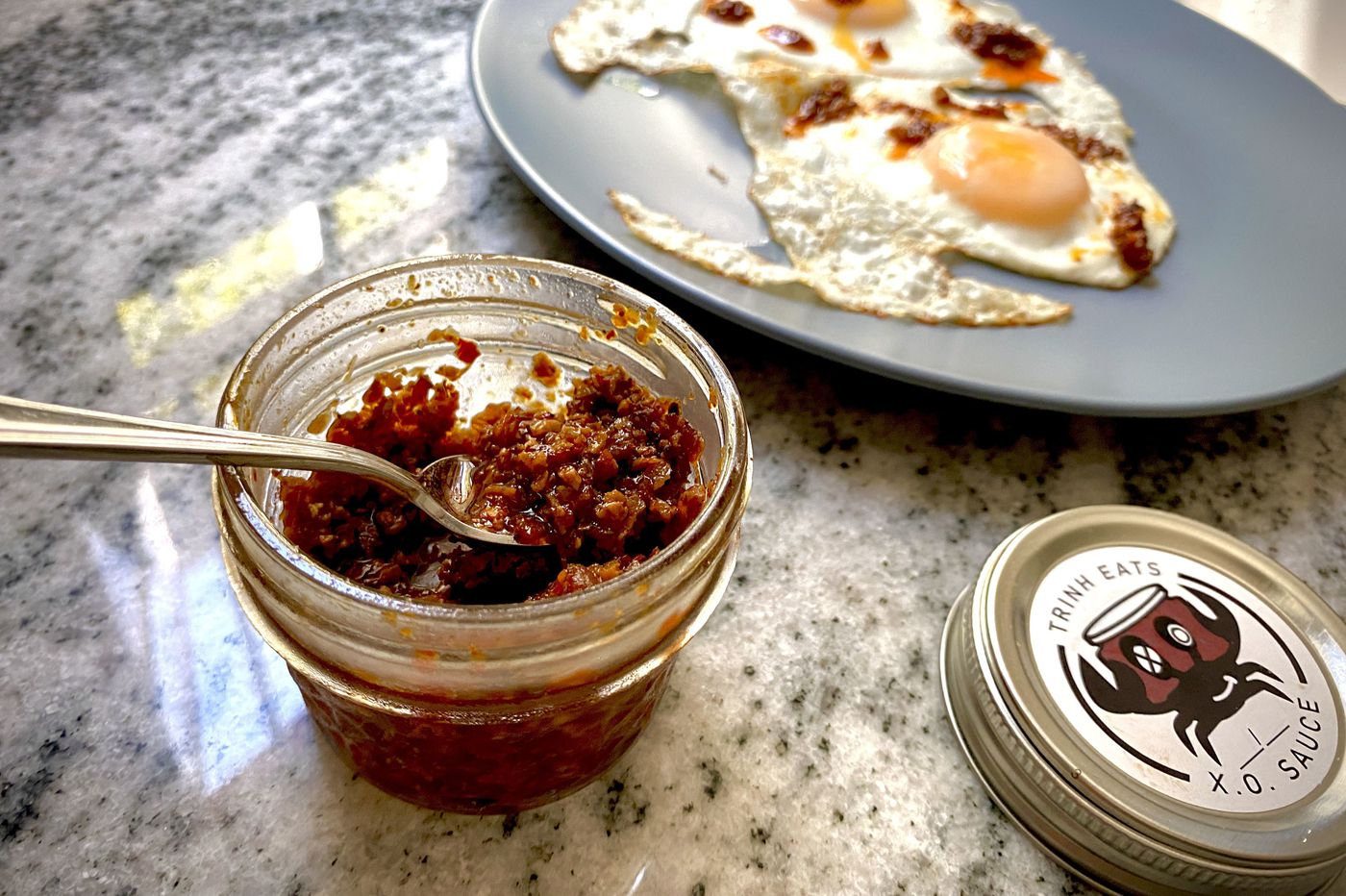 Meet the Delco native selling homemade XO sauce out of an auto tag shop