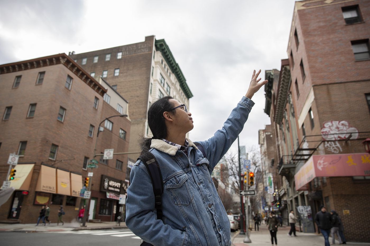 He painted murals in Beijing. Now, he dreams of painting Chinatown.
