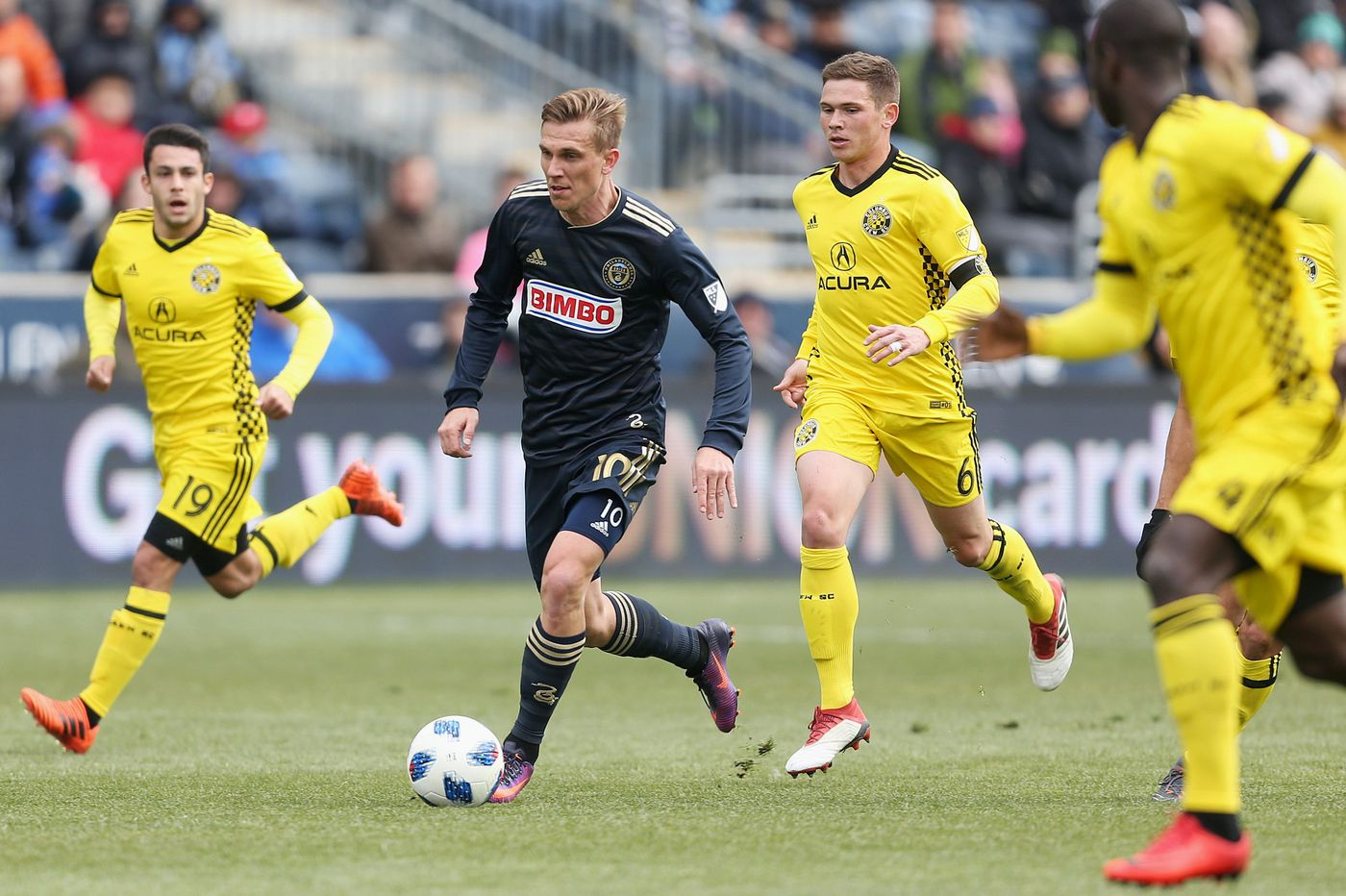 Philadelphia Union 2018 player salaries as of May 1