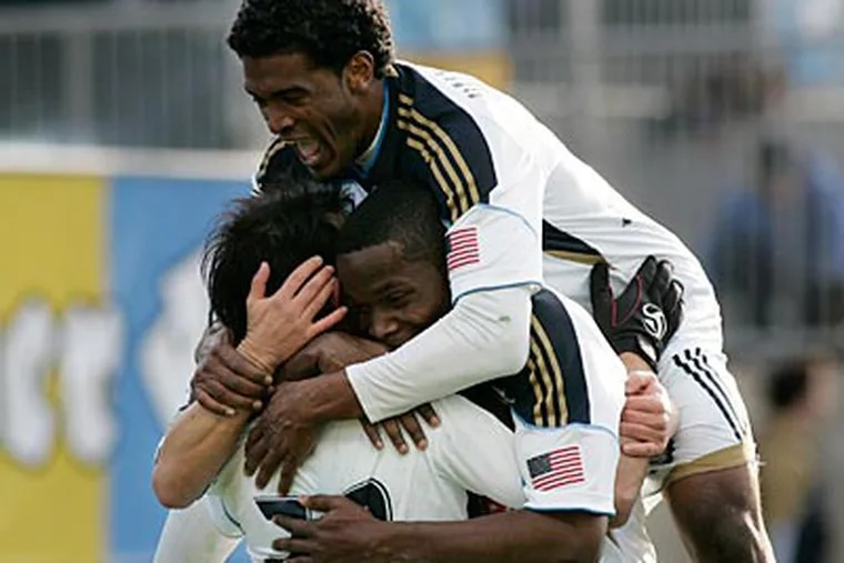 The Union have been playing with strong confidence this season. (Tom Mihalek/AP)