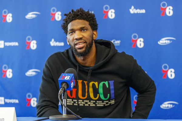 Sixers' Joel Embiid headed to Senegal for NBA's Basketball Without Borders program