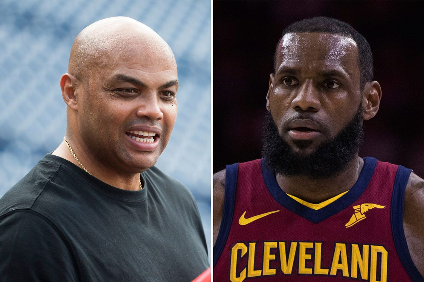 a2642a9a180b Charles Barkley  LeBron James won t sign with the Sixers
