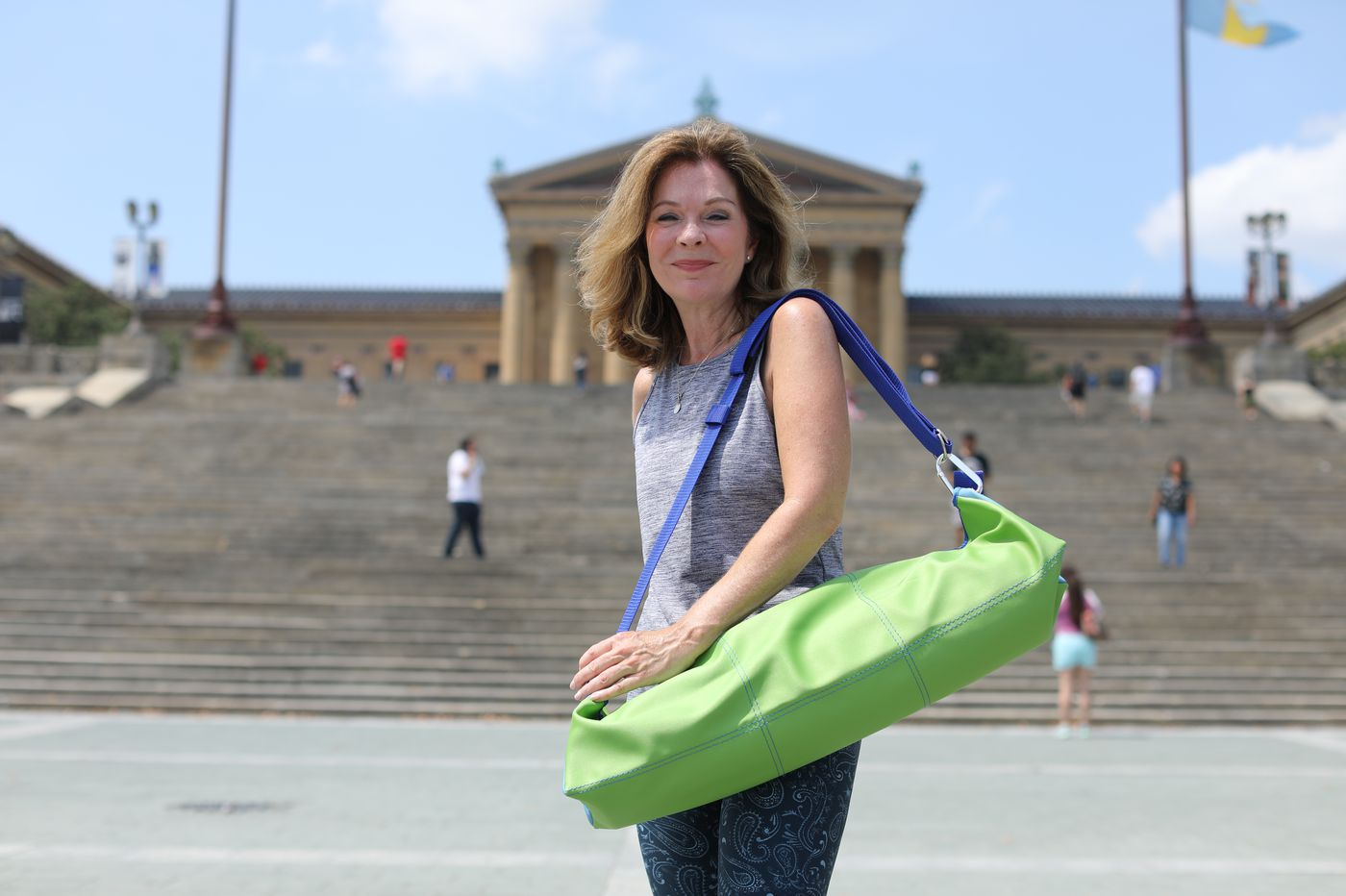 ThePureBag: A yoga tote designed by a local woman that just might save your life | Elizabeth Wellington
