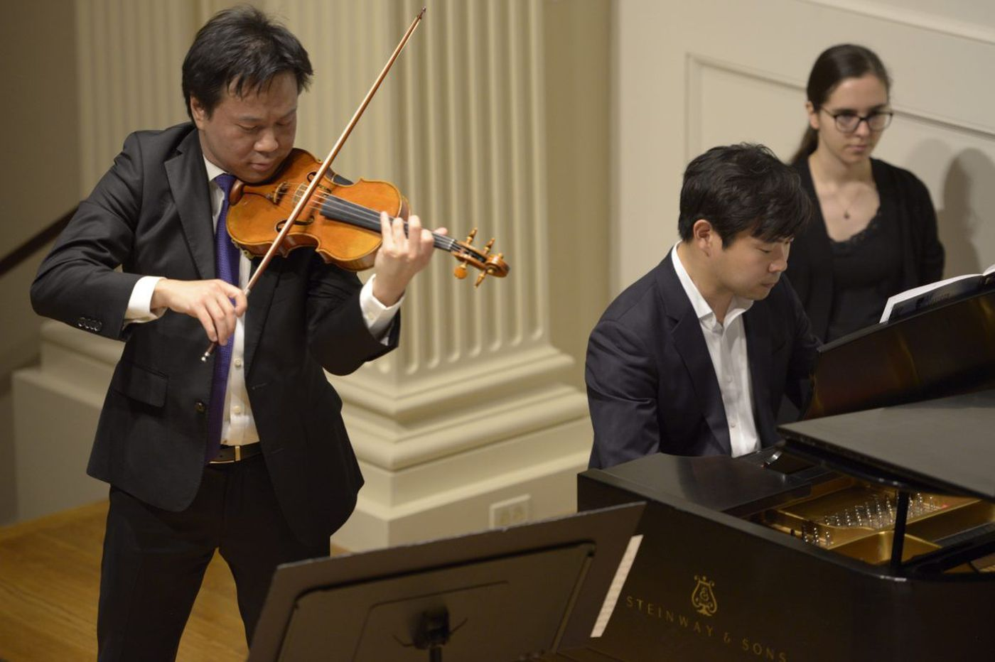 In Astral Artists recital, portrait of the Brothers Chooi