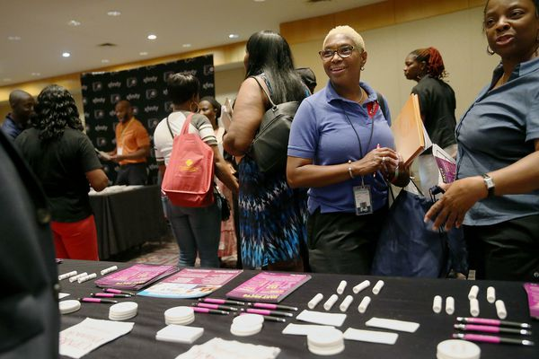 At 'Hire Hahnemann' job fair, laid-off workers fear an uncertain future with lower pay