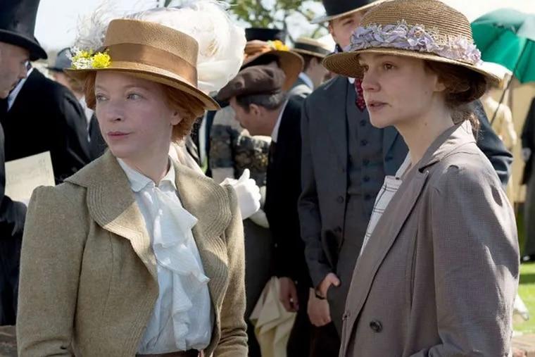 "Natalie Press and Carey Mulligan in ""Suffragette."""