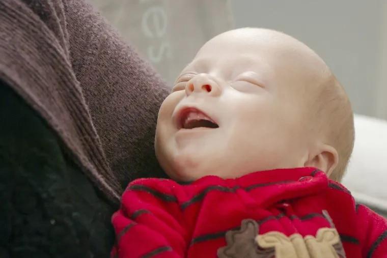 Benjamin Thomas Gobrecht, the first baby born as part of Penn's uterus transplant program.