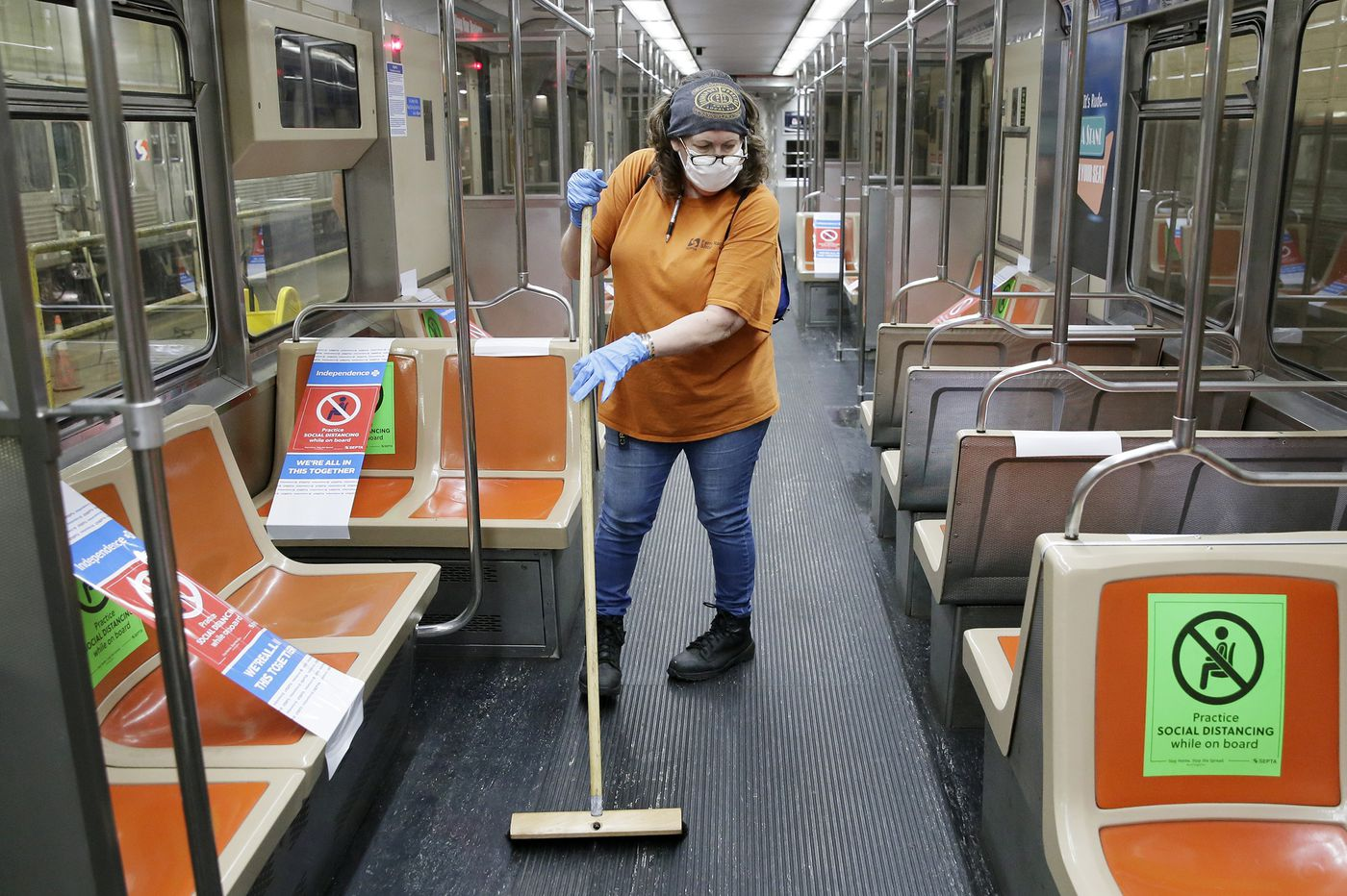 Between feces and bodily fluids, the coronavirus makes SEPTA's dirtiest jobs even tougher